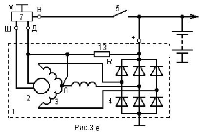 Принципиальная схема функционального узла